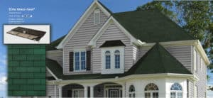 Tamko's Elite Glass-Seal® shingles compliments homes with vivid colors, versatile style and unique flair. Complements the exterior of homes with Elite Glass-Seal standard-size fiberglass shingles.