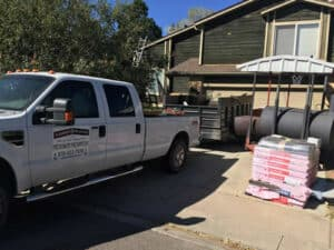 Elements Roofing Truck